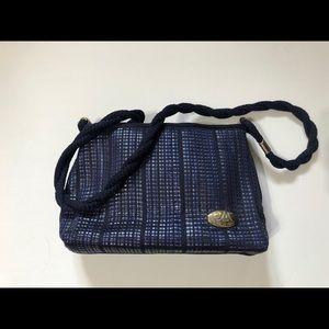 Vintage GModa Rande Made in Italy woven bag